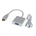 HDMI to VGA Adapter with Audio Interface