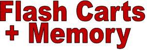 Flash Carts and Memory