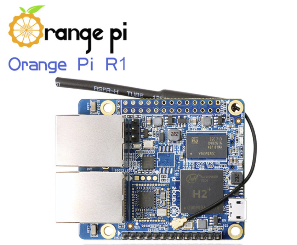 Orange Pi R1 : H2+ 256MB Quad Core Cortex-A7 Open-source development board beyond Raspberry Pi