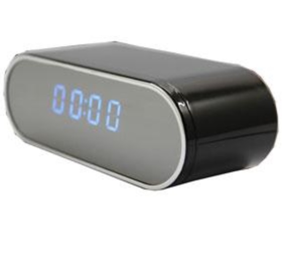 Hidden Camera Wifi Clock Camera