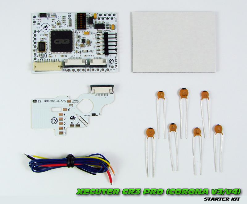 Xecuter CR3 Pro V1.0S (CORONA V3/V4) FAKE POST - Starter Kit