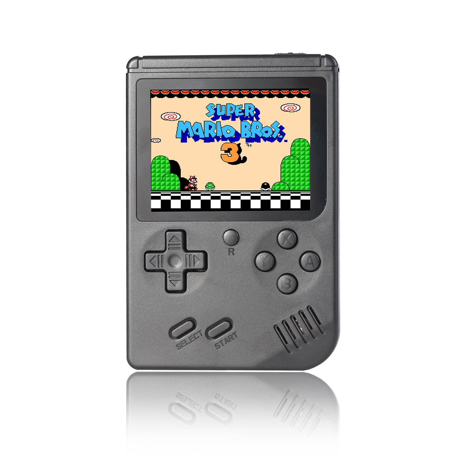 3 INCH HANDHELD - 168 IN 1 - 8-BIT RETRO FC PORTABLE GAME CONSOLE