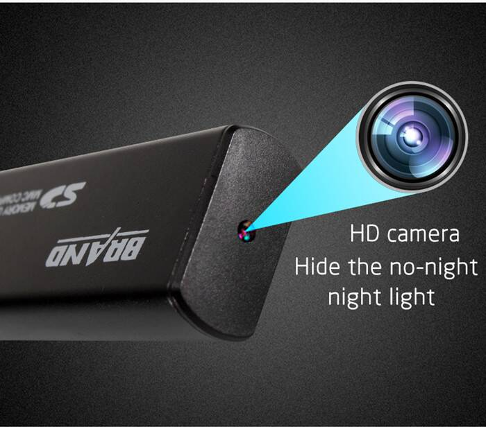 U831 No hole Mini USB Flash Drive Spy Camera with night vision