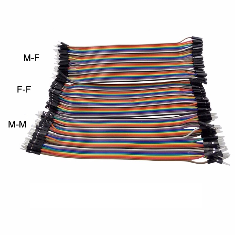 Dupont Line 30pcs 20cm Male to Male+Male to Female+Female to Female 1p-1p Jumper Wire for Raspberry Pi 3