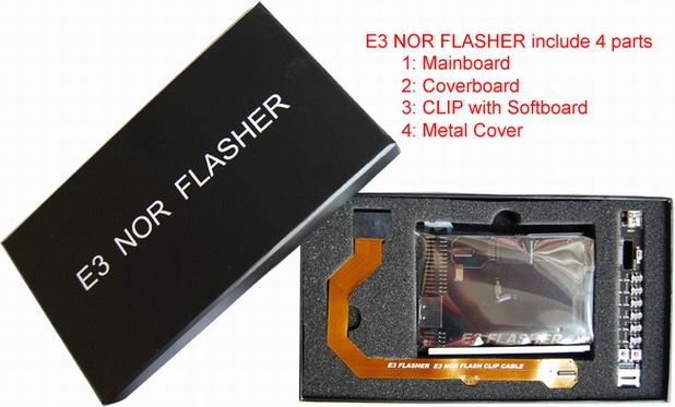 E3 NOR Flasher - Downgrader