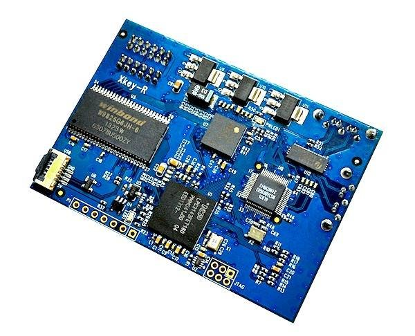 Xk3y-R / XKey Reloaded (XKR) v1.1 - Solderless USB loader + Free MicroSD Card Reader