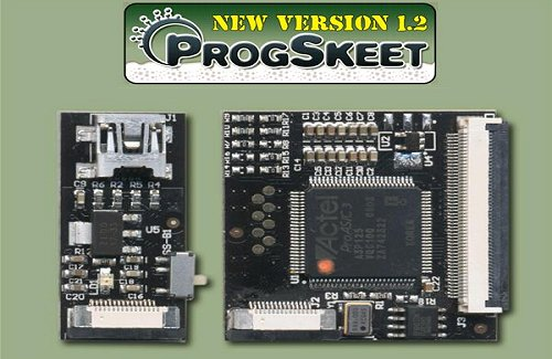 ProgSkeet V1.20 Black Tar Edition w/ FREE Adaptor PCB kit