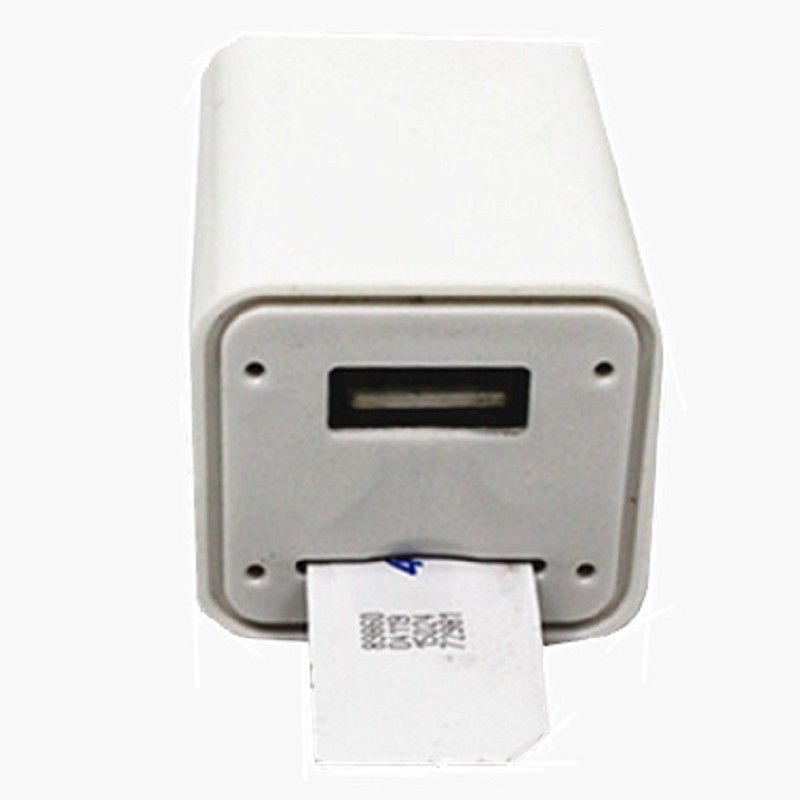 Wireless GSM SIM Card Voice Listening Device Spy Ear Bug USB Wall Charger Adapter