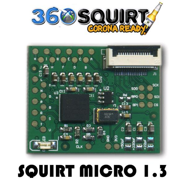 Squirt 360 MICRO JTAG/Glitcher BGA Board v1.3