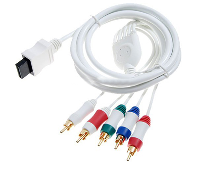 Wii Component & Composite AV Cable