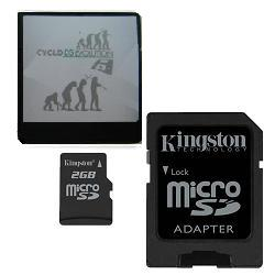 CycloDS iEvolution w/ 2GB Kingston MicroSD Card + Free USB Charge Cable