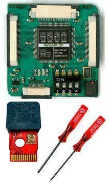 Wasabi DX Wii Modchip + V16 Wiiclip w/ Free Triwing and Phillips Screwdriver