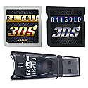 R4i Gold 3DS Deluxe Edition (v.4.1 to 4.5) w/ FREE MicroSD Reader and USB Charge Cable