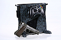 Calibur11 Vault shell for XBox 360 SLIM - ARMY