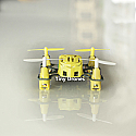 Tiny Drone Hubsan's Q4 Nano Quadcopter (Yellow) (2.4G, 4CH)