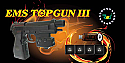 EMS Top Gun 3/Top Gun III Light Gun for XB360/PS2/PS3/PC