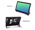 7 Inch Touch Screen Monitor for Raspberry Pi, Portable IPS Display 1024 * 600 HDMI Touchscreen with Case