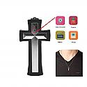 Wearable Cross Necklace Spy Camera/Hidden Surveillance Security Cam