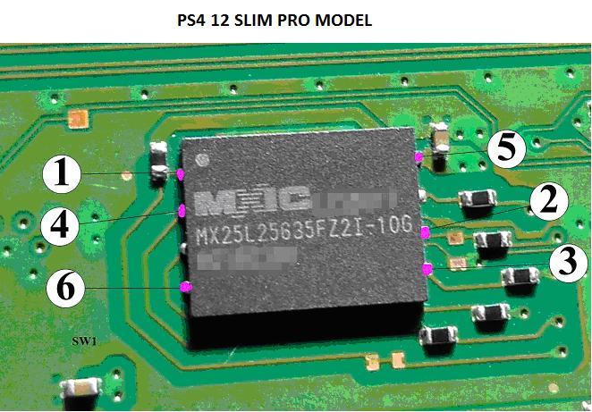 PS4 MTX KEY ModChip USA-CANADA-WORLDWIDE