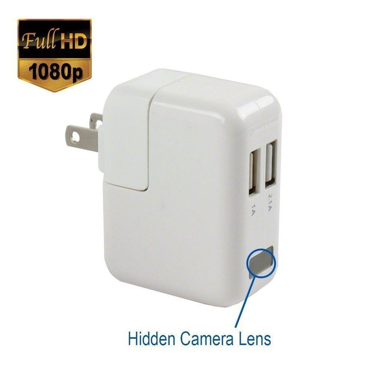 1080p Real USB Apple Power Adapter Spy Camera Plug