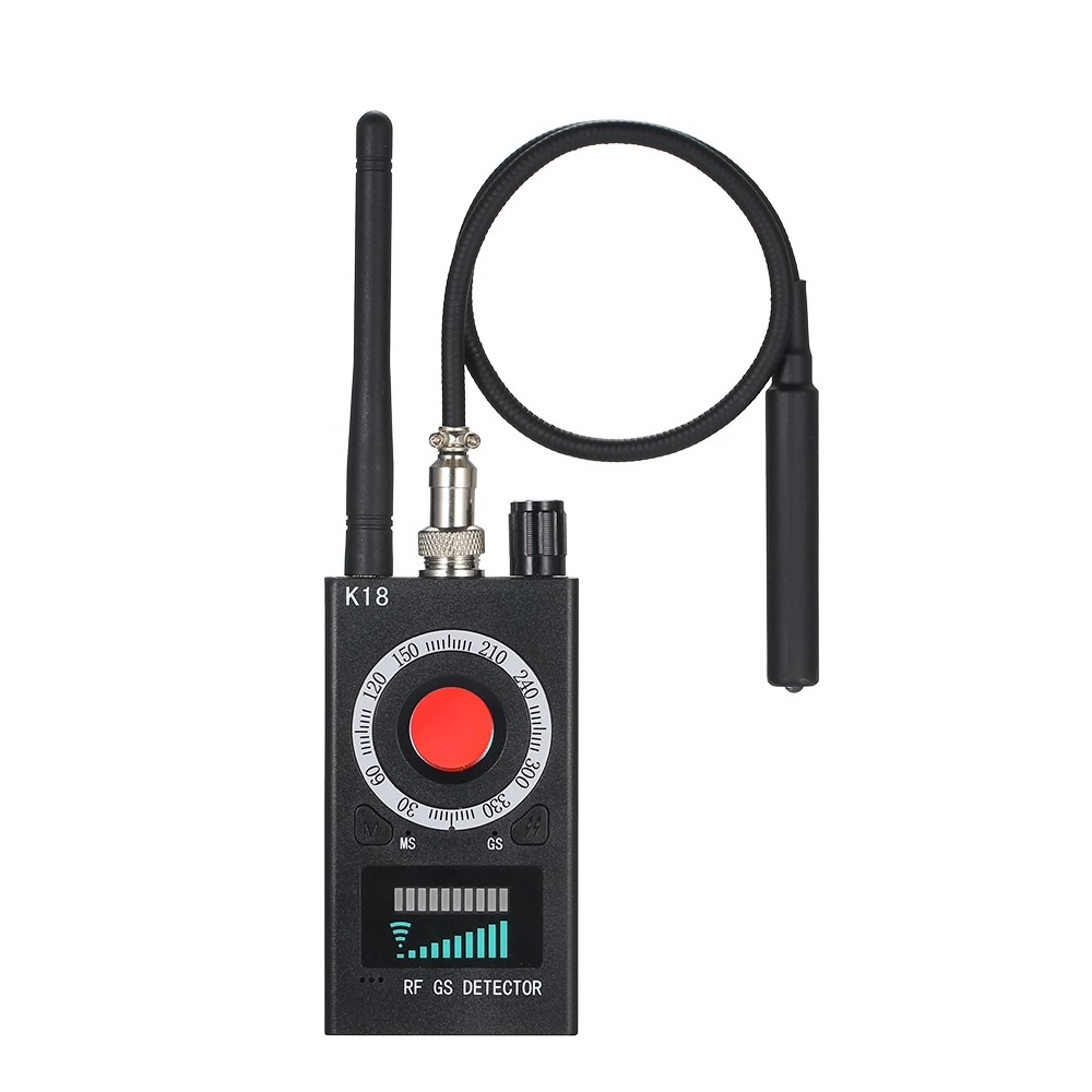 Multi-function Anti-spy Detector K18 Camera GSM Audio Bug Finder GPS Signal Lens RF Tracker