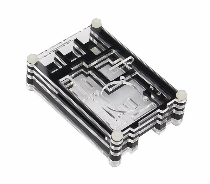 Raspberry Pi 3 Case Acrylic Case 9 Layers Cover Shell Enclosure Box