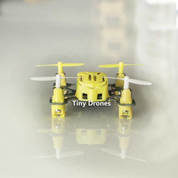 Tiny Drone Hubsan's Q4 Nano Quadcopter (Yellow) (2.4G, 4CH)