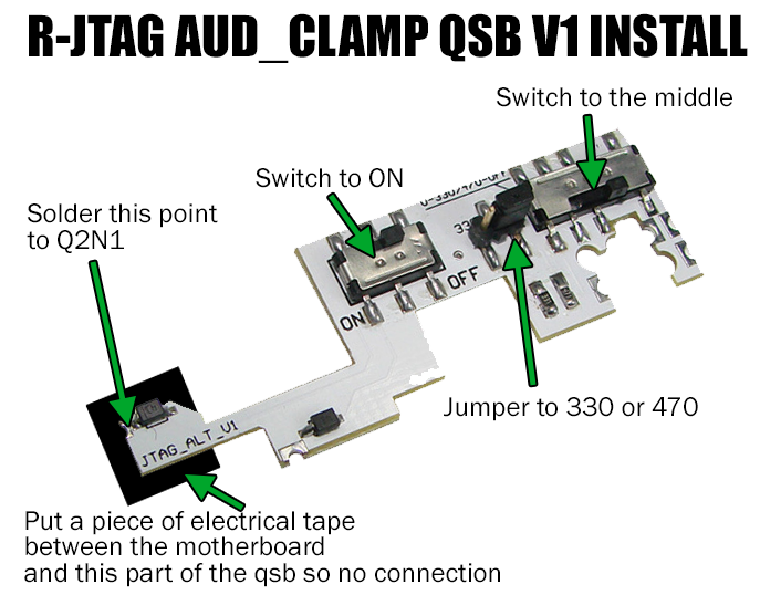 xecuter nand x jtag kit 5 (non_xenon alt pro version) xbox 360 jtag ready xbox 360 jtag diagram #21
