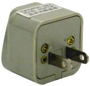Universal Power Plug Adapter (110 Volt)