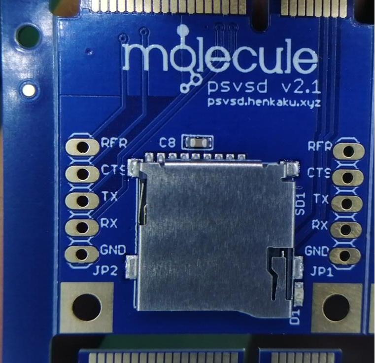 PS Vita 3G to microSD card adapter v2.1
