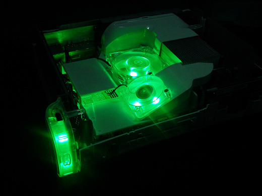 Xecuter xFAN with GREEN LED