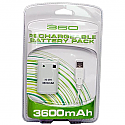 3600mAh Rechargeable Battery Pack for Xbox 360