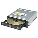 LiteOn IHAS124-B  Burner Max Compatible DVD+R DL Writer
