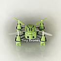 Tiny Drone Hubsan's Q4 Nano Quadcopter (Green) (2.4G, 4CH)