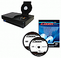 PSTwo/PS2 Flip Top Cover V9-10 w/ Swap Magic Plus v3.8 Coder CD/DVD