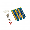 Raspberry Pi 3 Model B 40 Pin GPIO Adapter Extension Board 1 to 3 40 Pin Plate Module GPIO Adapter for Orange Pi