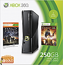 Xbox 360 250GB Holiday Bundle with Fable III and Halo: Reach  - Premodified with X360key / xk3y